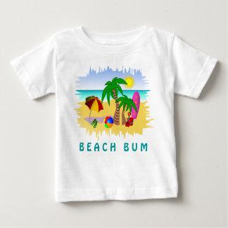 Mar de Sun del vago de la playa y camiseta Playera