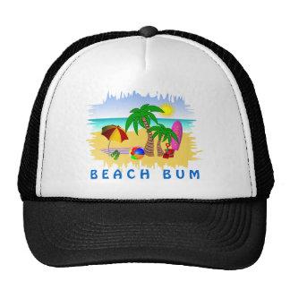 Mar de Sun del vago de la playa y gorra colorido