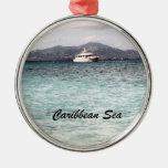 Mar del Caribe Ornaments Para Arbol De Navidad