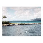 Mar del Caribe Tarjetas Postales