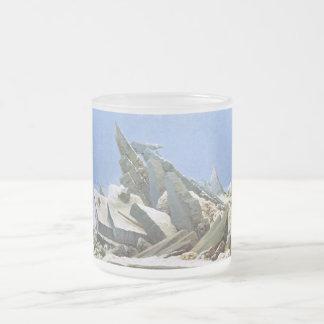 Mar del hielo - Das Eismeer - La Mer de Glaces Taza De Cristal