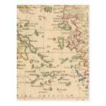 Mar Egeo Tarjeta Postal