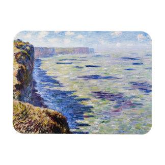Mar en Fecamp, visión desde los acantilados, 1881 Imán De Vinilo