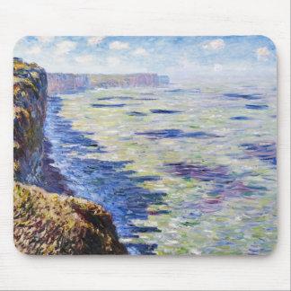 Mar en Fecamp, visión desde los acantilados, 1881 Tapete De Ratón