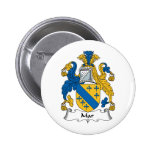 Mar Family Crest Pinback Button