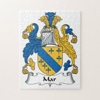 Mar Family Crest Puzzle