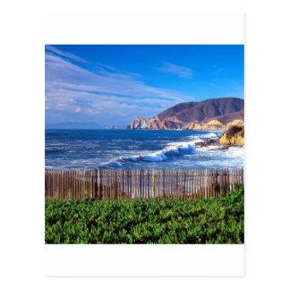 Mar Half Moon Bay California Tarjeta Postal