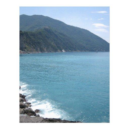Mar italiano membrete personalizado