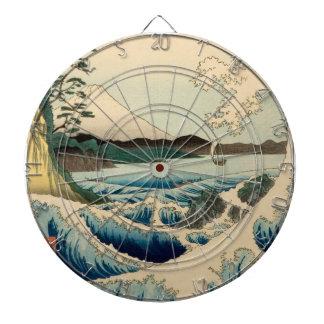 Mar japonés del arte del vintage de Satta