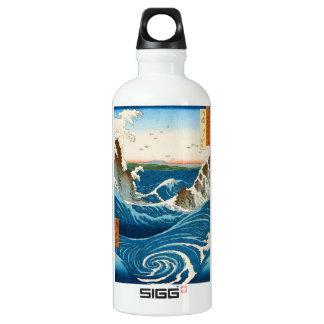 Mar japonés tradicional oriental fresco del