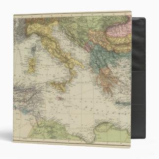 """Mar Mediterráneo 3 Carpeta 1 1/2"""""""