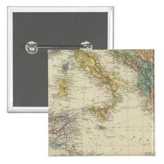Mar Mediterráneo 3 Pin Cuadrado