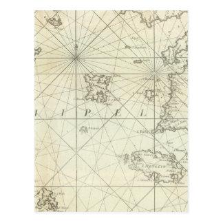 Mar Mediterráneo 5 Tarjeta Postal
