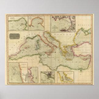 Mar Mediterráneo 6 Posters