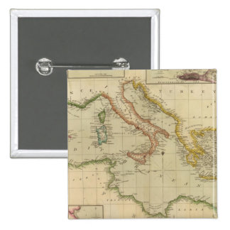 Mar Mediterráneo 6 Pin Cuadrado