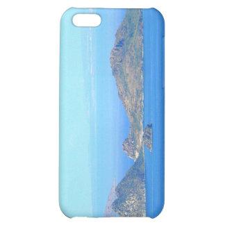 Mar Mediterráneo de las montañas de Grecia de la i