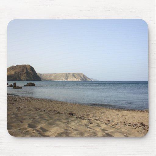 Mar Mediterráneo y playa Las Negras, fotografía Mouse Pads