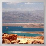 Mar muerto y Jordania de Masada,… Póster