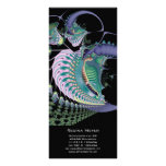 Mar profundo II · Arte del fractal · Azul Plantillas De Lonas