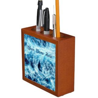 Mar que remolina personalizado portalápices