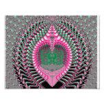 Mar rosado Shell del fractal Impresiones Fotograficas