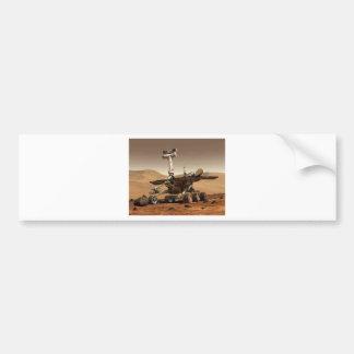 Mar rover space design car bumper sticker
