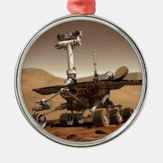 Mar rover space design metal ornament