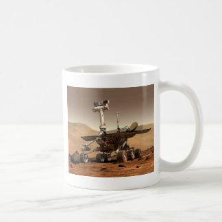 Mar rover space design classic white coffee mug