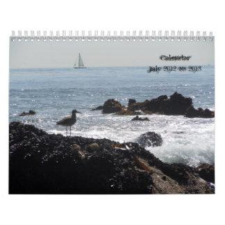 Mar Scape calendario julio de 2012 a junio de 2013