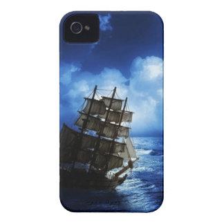 Mar tempestuoso iPhone 4 carcasas