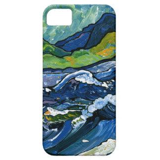 Mar tempestuoso iPhone 5 carcasa
