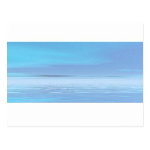 Mar tranquilo 2 postales