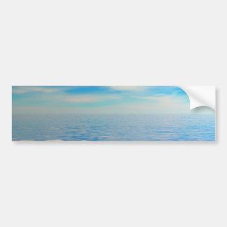 Mar tropical pegatina para auto