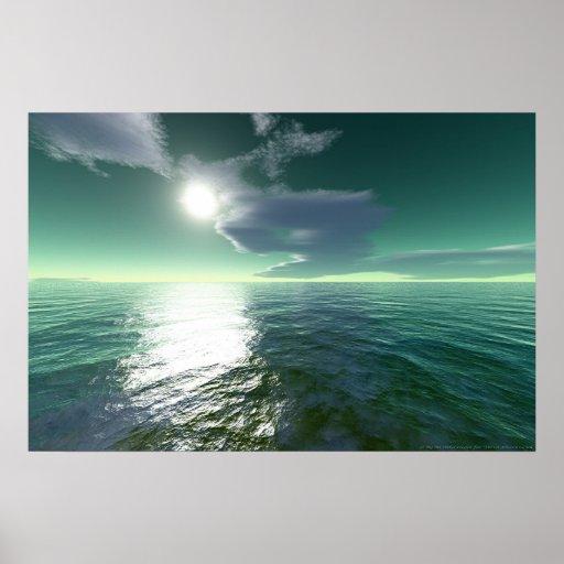 Mar tropical poster