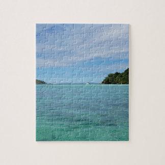 mar tropical rompecabezas con fotos