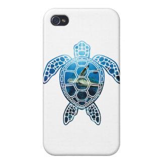 mar turtle-2 iPhone 4 cárcasas