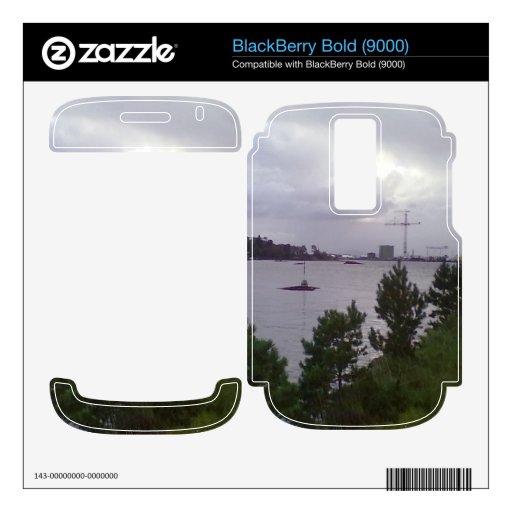 Mar y edificio BlackBerry bold skin