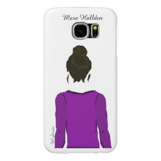 Mara Hallden Portrait Galaxy S6, Barely There Samsung Galaxy S6 Case
