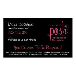 Mara - Posh 1 Business Card