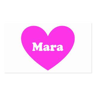 Mara Plantilla De Tarjeta Personal