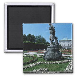Marabell Gardens, Salzburg, Austria 2 Inch Square Magnet
