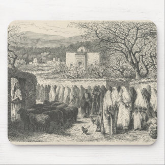 Marabout and Procession: Tlemcen Mouse Pad
