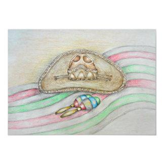 maracas and hat card