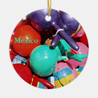 Maracas Ceramic Ornament