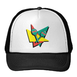 Maracas colorido gorras de camionero