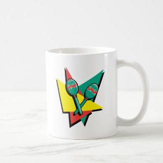 Maracas colorido taza