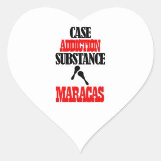 MARACAS designs Heart Sticker