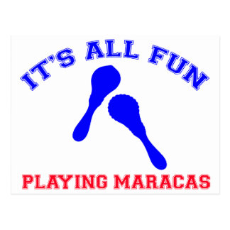 maracas Designs Postcard