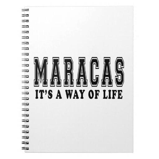 Maracas es manera de vida cuadernos
