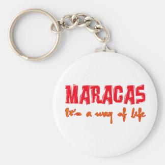 Maracas es una manera de vida llavero personalizado